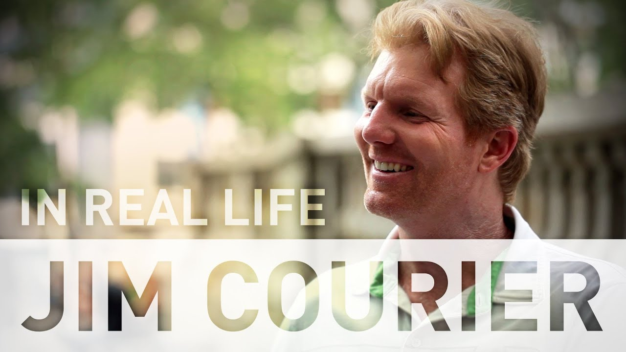 In Real Life Jim Courier on Wimbledon American Tennis and All