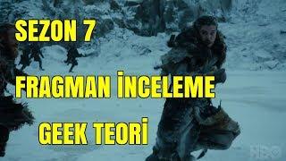 Game of thrones 7.sezon trailer İncelemesi