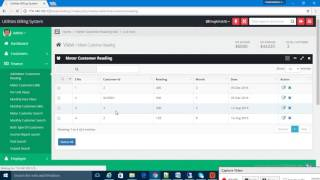 Php based utilities billing system, electricity software, water software