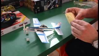Резиномоторные модели самолетов LYONAEEC