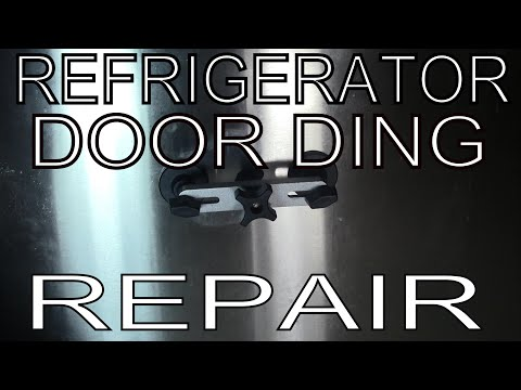 How To Remove Ding Dent From Refrigerator Door Samsung Lg Ge Frigidaire Kenmore