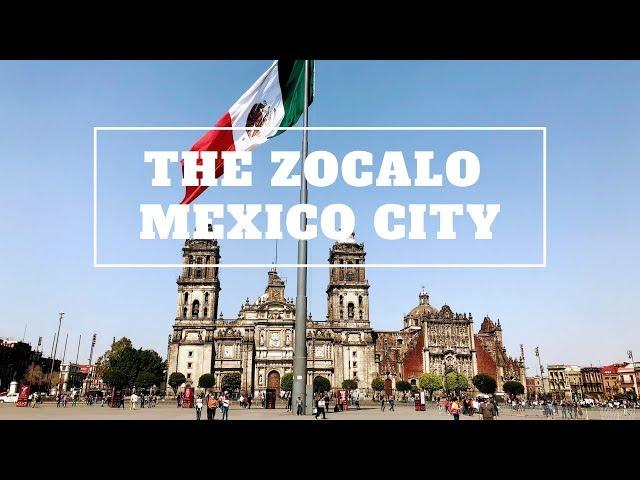 The Zocalo in Mexico City - CDMX, Ciudad de México