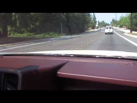 1993 Cadillac Allante Convertible Test Drive