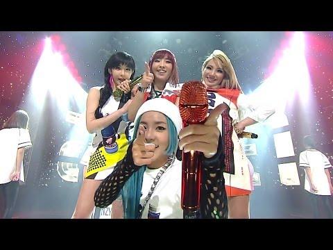 2NE1-'너 아님 안돼 (GOTTA BE YOU)' 0406 SBS Inkigayo