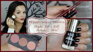 Wednesday Wows | Morphe, Wet n Wild, Starlooks & More! Thumbnail