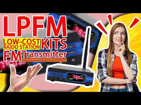 How To Use 1W FM Transmitter Set For Small FM Radio Station/Church/Parking Lot/Drive-in Cinema?