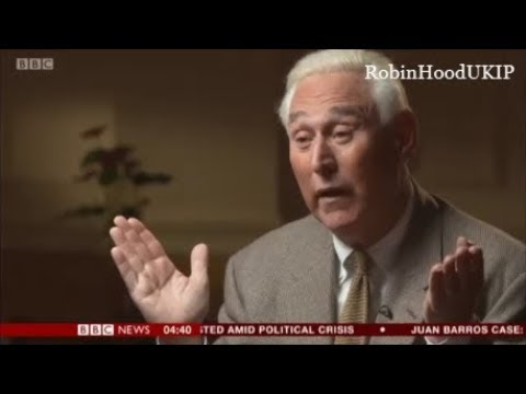 Roger Stone bats away stupid biased BBC questions about Donald Trump