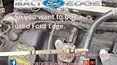 Surprise found during a brake inspection on a 2011 Ford Edge