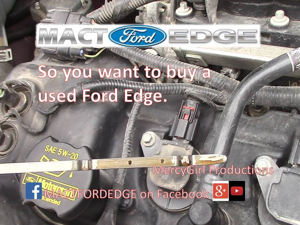 Used 2016 Ford Explorer >> So you want to buy a used Ford Edge 2007 thru 2014 - YouTube