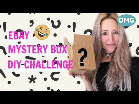 Ebay Mystery Box DIY Challenge | DIY Win | Rose Wallet & Beaded Choker