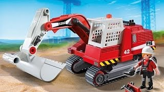 juguetes para niños. Toys Dump caterpillar Truck Pours Cement and cars imagination Learning For Kids
