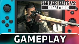 Sniper Elite V2 Remastered | 10 Minutes of Gameplay on Switch