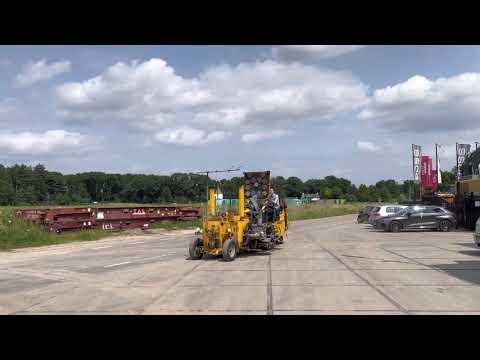 Gebruikte bouwmachine Borum BM SP T 350-2P Spray Dot Road Marking Diverse