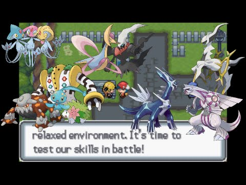 Let 39 s play pokemon light platinum 47 sinnoh legendaries youtube - Pokemon legendaire platine ...
