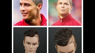 Cristiano Ronaldo Inspired Haircut Tutorial | TheSalonGuy