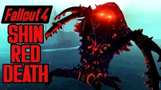 Fallout 4 - Shin Red Death! - EPIC BOSS FIGHT! - Queen Red Death Boss Mod