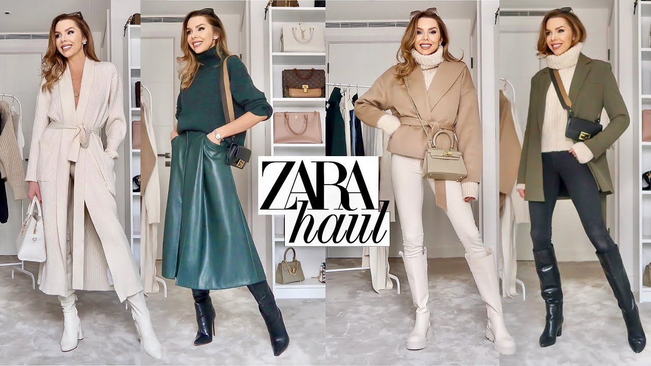 ZARA *NEW-IN*  HAUL & TRY ON // February 2021 // Everyday high street fashion!