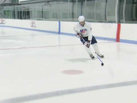 USA Hockey Skills and Drills - Tight Turn