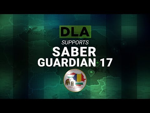 Logistics On Location: DLA Supports Saber Guardian 17 (YouTube Captions)