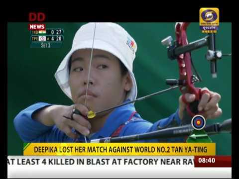 Indian Archers Deepika Kumari, Bombayla Devi lose pre-quarter clashes