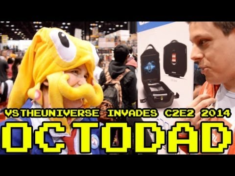 C2e2 2014 Cosplay Roundup Octodad Youtube