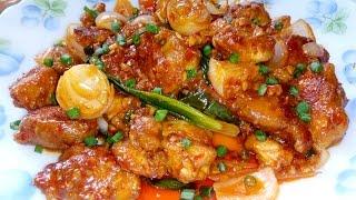 Restaurant Style Schezwan Chicken Szechuan Chicken at home