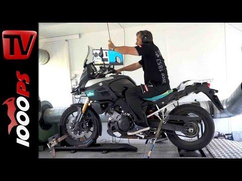 Suzuki V-Strom 1000 Remus | Prüfstand Test