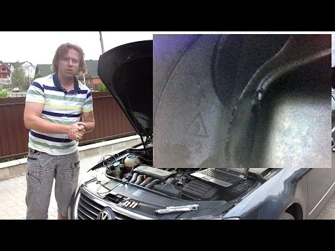 Исследование ЦПГ: VW Passat B6, 2.0FSI (BVY)