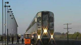Amtrak San Joaquin Train - Modesto, California