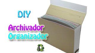72. Manualidades: Como hacer una archivador (Reciclaje) Ecobrisa