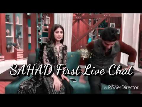 Ahad Raza Mir & Sajal Aly | SaHad - First Live Chat - Jab Koi Baat Bigar Jaye