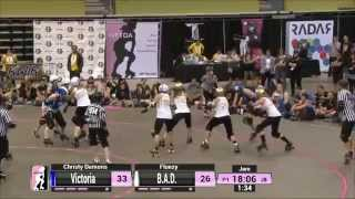 Tucson Game 17: Bay Area Derby Girls v Victorian Roller Derby League