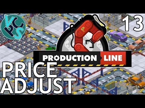 Production Line EP13 - Price Adjust - Alpha 1.43 Manufacturing Tycoon Gameplay