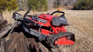 Endurance Testing TRX-52-PRO Slope Mower Footage and Photos