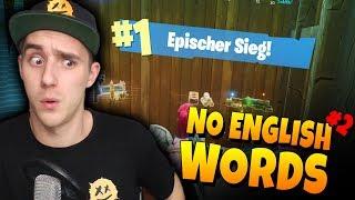 🔇NO ENGLISH WORDS Challenge! 🔇 TEIL 2!