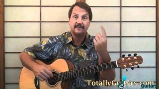Rock And Roll Girls Guitar Lesson Preview - John Fogerty
