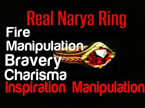 The Legendary Narya Ring - The Ring Of Fire - Subliminal Affirmations