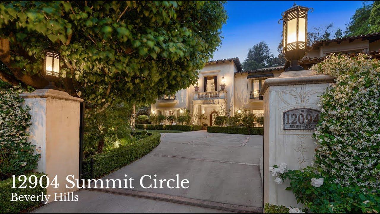 Britney Spears' Former Beverly HIlls Villa   12094 Summit Circle