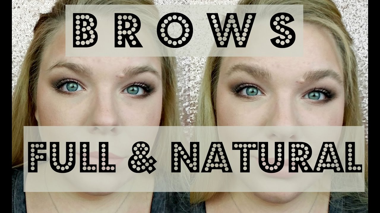 a708e3d8959 Full + Natural Brows | Maybelline Brow Precise Fiber Volumizer - YouTube