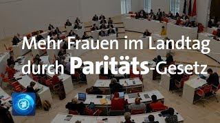 Brandenburg beschließt Parität für Wahllisten