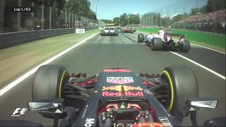 2017 Italian Grand Prix: Best Onboards