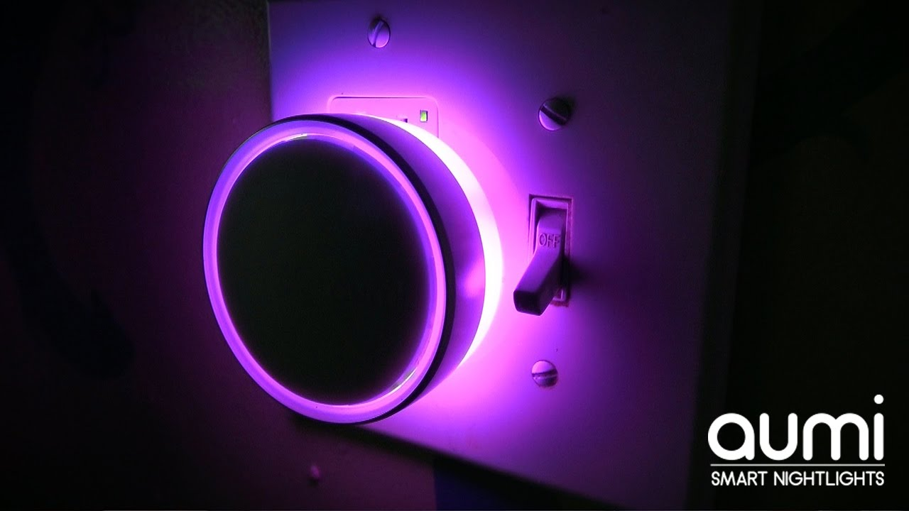 Led smart night lamp - Aumi Review Bluetooth Enabled Smart Night Light