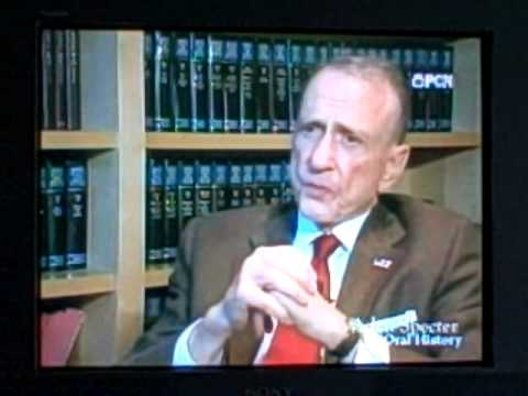Arlen Specter Bashes Clint Hill