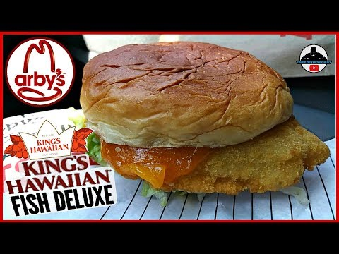 Arby's®   Kings Hawaiian® Fish Deluxe Review! 👑🏝️🐟