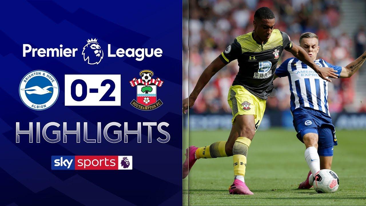 HIGHLIGHTS: Brighton 0-2 Southampton | Premier League | 24th August 2019