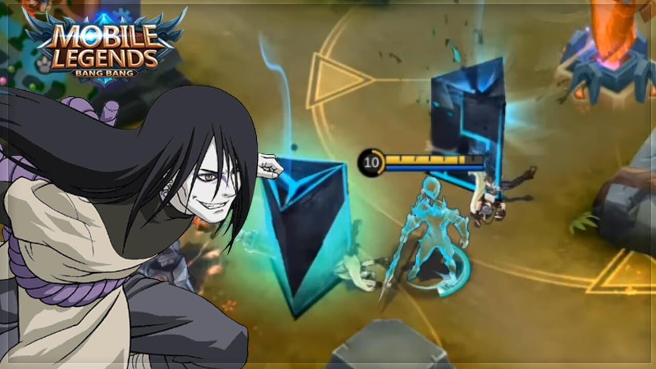 new hero faramis   orochimaru from naruto   mobile legends