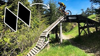 First Time Hitting This Double Black Trail! - Whistler Bike Park Opening Day 2