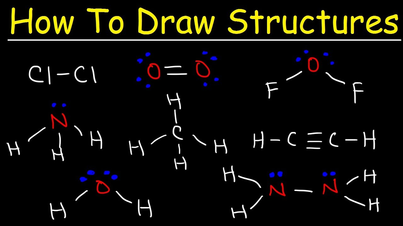 How To Draw Lewis Structures - YouTube