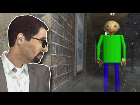 BALDI SURVIVAL IN SILENT HILL? - Garry's Mod Gameplay - Action Addon Survival
