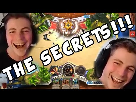 Best Hearthstone End Ever!! | ALL THE SECRETS!!!!!
